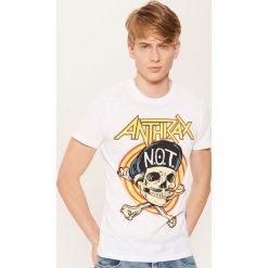 T-shirty męskie: T-shirt anthrax - Biały