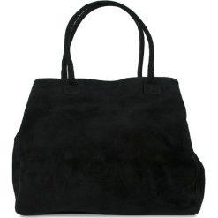 """Torebki klasyczne damskie: Skórzana torebka """"Sabra"""" w kolorze czarnym – 37 x 30 x 18 cm"""