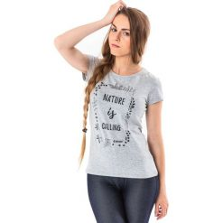 Hi-tec Koszulka damska Lady Insight Light szara r. M. Szare topy sportowe damskie Hi-tec, m. Za 32,14 zł.