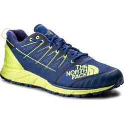 Buty THE NORTH FACE - Ultra Endurance II T939IE4CU Brit Blue/Dayglo Yellow. Niebieskie buty do biegania męskie The North Face, z materiału. W wyprzedaży za 389,00 zł.