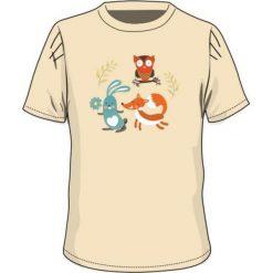 T-shirty chłopięce: BEJO Koszulka dziecięca  SYLVAN KIDSG Almond oli r. 110