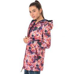 Bomberki damskie: IGUANA Kurtka damska Ekene Pink Floral Print/Patriot Blue r. XL