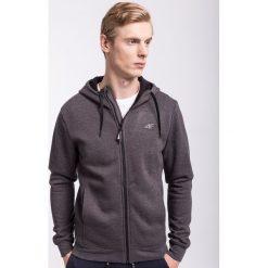 Bluzy męskie: Bluza męska BLM300Z - ciemny szary melanż