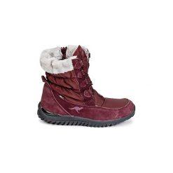 Śniegowce Kangaroos  CUPY. Czerwone buty zimowe damskie KangaROOS. Za 231,20 zł.