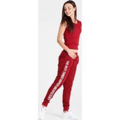 Naoko - Spodnie The Best Things Rouge. Szare bryczesy damskie marki NAOKO, l, z elastanu, casualowe. W wyprzedaży za 129,90 zł.