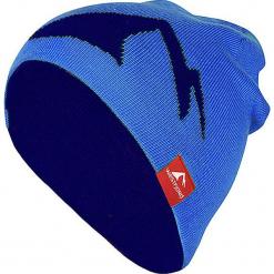 """Dwustronna czapka """"Westfjord"""" w kolorze niebiesko-granatowym. Niebieskie czapki męskie Westfjord, z dzianiny. W wyprzedaży za 56,95 zł."""