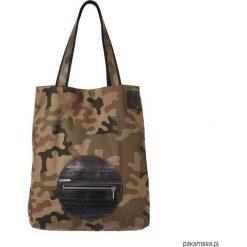 Shopper bag damskie: mili shopper silver m