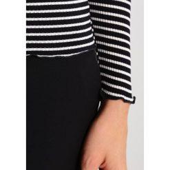 Bluzki asymetryczne: Rosemunde Bluzka z długim rękawem offwhite/black