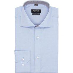 Koszula bexley 2649 długi rękaw custom fit niebieski. Szare koszule męskie marki Recman, na lato, l, w kratkę, button down, z krótkim rękawem. Za 139,00 zł.