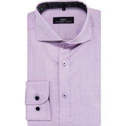 Koszula IGNAZIO 16-01-06-K. Szare koszule męskie na spinki marki S.Oliver, l, z bawełny, z włoskim kołnierzykiem, z długim rękawem. Za 229,00 zł.