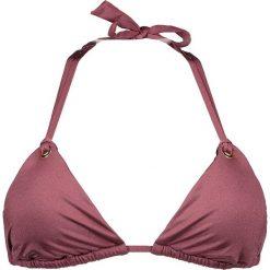 """Biustonosz bikini """"Majestic Shimmer"""" w kolorze śliwkowym. Różowe biustonosze Heidi Klum Intimates. W wyprzedaży za 129,95 zł."""
