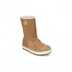 Śniegowce Sorel  GLACY. Brązowe buty zimowe damskie Sorel. Za 569,00 zł.