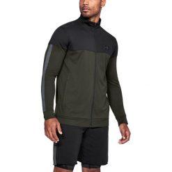 Bluzy męskie: Under Armour Bluza męska Sportstyle Pique czarno-zielona r. XL (1313204-357)