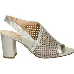 Sandały damskie: Sandały - 26102 SILVER