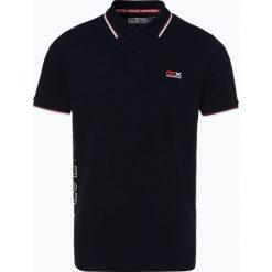 Ocean Cup - Męska koszulka polo, niebieski. Niebieskie koszulki polo Ocean Cup, m, z nadrukiem. Za 129,95 zł.