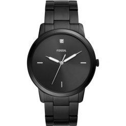 Fossil - Zegarek FS5455. Różowe zegarki męskie marki Fossil, szklane. Za 699,90 zł.