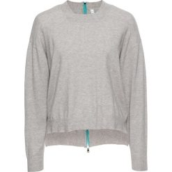 Sweter z zamkiem bonprix jasnoszary melanż. Szare swetry klasyczne damskie marki Mohito, l. Za 79,99 zł.