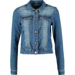 Bomberki damskie: Noisy May NMDEBRA  Kurtka jeansowa medium blue denim