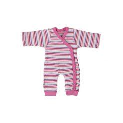Fixoni  Girls Piżama kolor różowy. Czerwone pajacyki niemowlęce Fixoni, z bawełny. Za 79,00 zł.