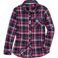 Bluzki dziewczęce z długim rękawem: Koszula flanelowa dla dziewczynki 9-12 lat