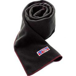 """Szal """"Neck"""" w kolorze czarnym - 125 x 25 cm. Czarne szaliki damskie Nebulus, z materiału. W wyprzedaży za 43,95 zł."""