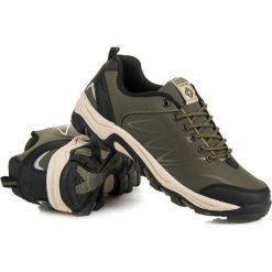Buty trekkingowe damskie: Niskie buty trekkingowe AX BOXING zielone
