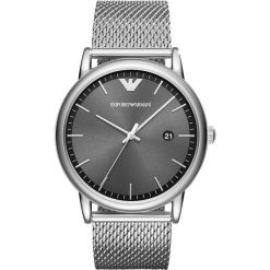 Emporio Armani - Zegarek AR11069. Szare zegarki męskie marki Emporio Armani, l, z nadrukiem, z bawełny, z okrągłym kołnierzem. Za 999,90 zł.