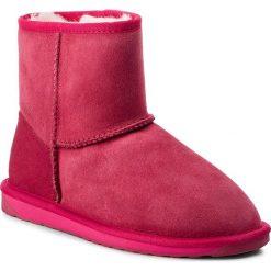 Buty EMU AUSTRALIA - Stinger Mini W10003 Fuschia. Czerwone buty zimowe damskie EMU Australia, ze skóry. Za 649,00 zł.