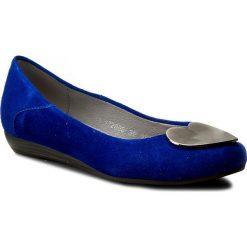 Baleriny SERGIO BARDI - Nadine FS127231117DP 413. Niebieskie baleriny damskie zamszowe Sergio Bardi. W wyprzedaży za 149,00 zł.