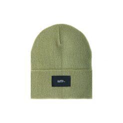 Czapka Beanie Olive (Black). Zielone czapki zimowe damskie Harp Team, z dzianiny, klasyczne. Za 49,00 zł.