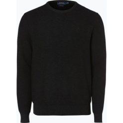 Swetry klasyczne męskie: Polo Ralph Lauren – Sweter męski, szary