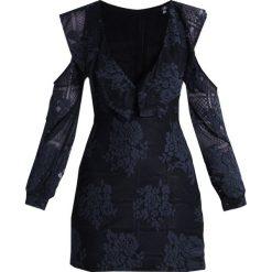 Sukienki: Missguided COLD SHOULDER LACE Sukienka koktajlowa navy