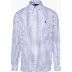 Polo Ralph Lauren - Koszula męska łatwa w prasowaniu, czarny. Szare koszule męskie non-iron marki Polo Ralph Lauren, l, z bawełny, button down, z długim rękawem. Za 299,95 zł.