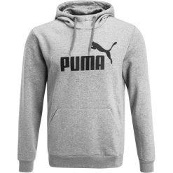 Bluzy męskie: Puma ESS LOGO HOODY Bluza z kapturem medium gray heather