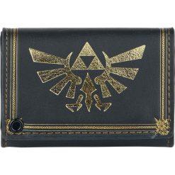 The Legend Of Zelda Triforce Portfel czarny. Czarne portfele damskie The Legend Of Zelda. Za 62,90 zł.