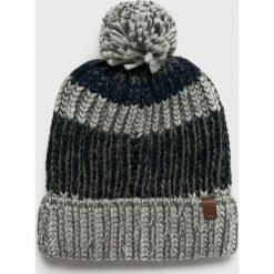 Barts - Czapka Cole. Szare czapki zimowe męskie marki Barts, z dzianiny. Za 129,90 zł.