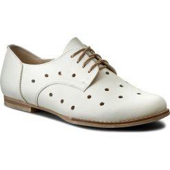 Oxfordy LASOCKI - NEOMI-01 Biały. Białe jazzówki damskie Lasocki, z materiału, na obcasie. Za 179,99 zł.