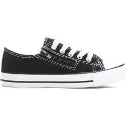 Czarne Trampki Made Off. Czarne buty sportowe chłopięce marki Born2be, z materiału, z okrągłym noskiem, na zamek. Za 29,99 zł.