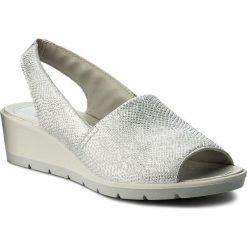 Rzymianki damskie: Sandały IMAC – 108720 Silver/Grey 16091/018