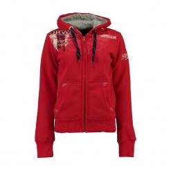 Geographical Norway Bluza Damska Gasmine S Czerwona. Czerwone bluzy z nadrukiem damskie Geographical Norway, s. W wyprzedaży za 149,00 zł.