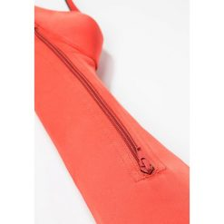 Topshop BELLINI Kozaki na obcasie rust. Czerwone buty zimowe damskie marki Topshop, z materiału, na obcasie. Za 299,00 zł.