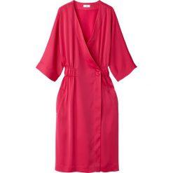 Sukienki hiszpanki: Sukienka kopertowa, z gumką w pasie