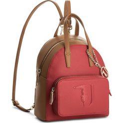 Plecak TRUSSARDI JEANS - Ischia 75B00191 R682. Brązowe plecaki damskie marki ARTENGO, z materiału. Za 679,00 zł.