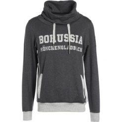 Bejsbolówki męskie: Kappa BORUSSIA MÖNCHENGLADBACH UNBRANDED Bluza z kapturem dark grey melange