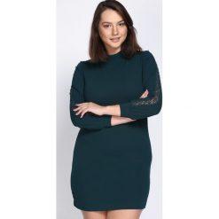Zielona Sukienka Light Guide. Zielone sukienki hiszpanki Born2be, l, midi. Za 69,99 zł.