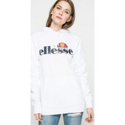 Ellesse - Bluza. Szare bluzy rozpinane damskie Ellesse, l, z nadrukiem, z bawełny, z kapturem. W wyprzedaży za 179,90 zł.
