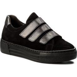 Sneakersy GABOR - 76.467.87 Schwarz/Argento. Czarne sneakersy damskie marki Gabor, z materiału. W wyprzedaży za 309,00 zł.