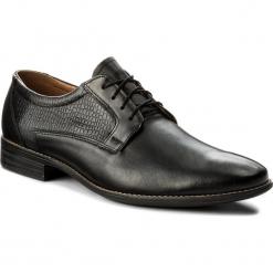 Półbuty SERGIO BARDI - Caorle SS127327418TM 101. Czarne buty wizytowe męskie Sergio Bardi, z materiału. W wyprzedaży za 179,00 zł.