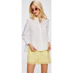 Answear - Koszula. Szare koszule damskie marki ANSWEAR, l, z poliesteru, z długim rękawem, długie. W wyprzedaży za 79,90 zł.