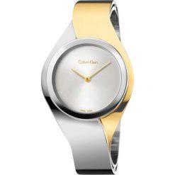 ZEGAREK CALVIN KLEIN SENSES K5N2S1Y6. Szare zegarki damskie marki Calvin Klein, szklane. Za 1379,00 zł.